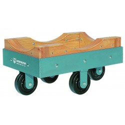 Hamilton Caster - DB245-P - 21-3/4L x 13-3/4W x 5H Gray General Purpose Dolly, 900 lb. Load Capacity
