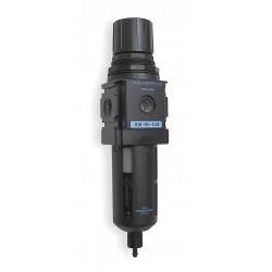 Wilkerson - B28-04-FK00 - 1/2 NPT Filter/Regulator, 165 cfm Max. Flow, 150 psi Max. Pressure