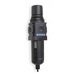 Wilkerson - B18-04-FK00 - 1/2 NPT Filter/Regulator, 93 cfm Max. Flow, 150 psi Max. Pressure