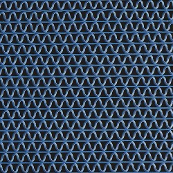 3M - 16107 - Blue Vinyl, Wet Area Runner, 3 ft. Width, 10 ft. Length