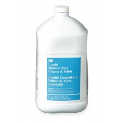 3M - 50048011199301 - Cleaner and Polish, Size 1 gal., Lime