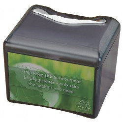 San Jamar - H4005TBKGR - 6-3/4 x 8-1/4 x 7 Plastic Napkin Dispenser, Black