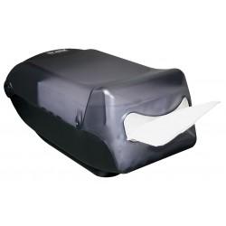 San Jamar - H5005TBKGR - 7-1/2 x 8 x 16 Plastic Napkin Dispenser, Black
