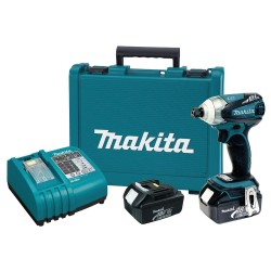 Makita - XDT01 - Makita XDT01 18V LXT Lithium-Ion Brushless Cordless 3-Speed Impact Driver Kit