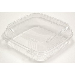 Pactiv - YCI8-1110 - 9-1/4 x 8-7/8 x 2-7/8 Polypropylene Carry-Out Food Container, Clear; PK200