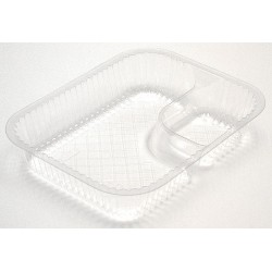Pactiv - YCI8-8068 - Plastic Disposable Nacho Tray, Translucent; PK500