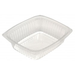 Pactiv - YCI8-6024 - 7 1/2 x 6-1/2 x 2 Polypropylene Carry-Out Deli Container, Clear; PK200