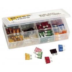Cooper Bussmann - NO.100BK - Eaton/Bussmann Series NO.100BK BULK - Auto Glass Fuse Assortment Pack-AGC, AGW, ATC, GBC, SFE