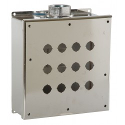 GE (General Electric) - 080HES33 - Pushbutton Enclosure, 4X NEMA Rating, Number of Columns: 3