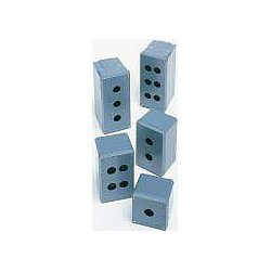 GE (General Electric) - 080SP4 - Pushbutton Enclosure, 1, 3, 3R, 4, 4X, 12, 13 NEMA Rating, Number of Columns: 2