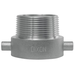 Dixon Valve - HA1515 - Fire Hose Pin Lug Adapter, Nonswivel Adapters Fittings Sub-Category, FNST x NPSH Male Connection Typ