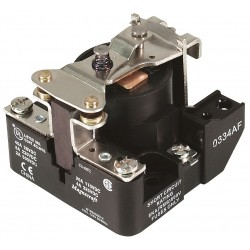 Telemecanique / Schneider Electric - 199ADBX-4 - 120VAC, 4-Pin Surface Open Power Relay; Electrical Connection: Screw