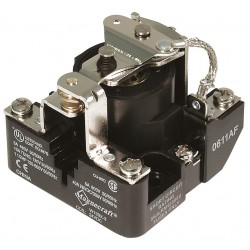 Telemecanique / Schneider Electric - 199X-2 - 12VDC, 5-Pin Surface Open Power Relay; Electrical Connection: Screw