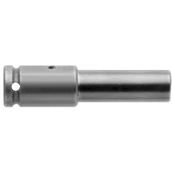 Apex Tool - 838PT - 1/4 Hex Bit Holder, 3/8 Square Shank, Overall Bit Length: 1-1/2