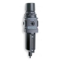 Wilkerson - B18-04-FL00 - 1/2 Filter/Regulator, 93 cfm Max. Flow, 250 psi Max. Pressure
