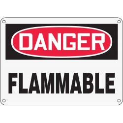 Accuform Signs - MCHL231XP - Danger Sign, 10 x 14In, R and BK/WHT, FLMB