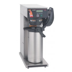 Bunn-O-Matic - AXIOM APS - 102 oz. Stainless Steel Single Head, Dual Voltage Airpot Coffee Brewer, Stainless Steel