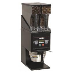 Bunn-O-Matic - MHG - BLK - Multi-Hopper Coffee Grinder, Two Hopper, 6 lb./Hopper, Black, Stainless Steel