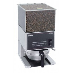 Bunn-O-Matic - LPG - Portion Control Coffee Grinder, Two Hopper, 6 lb./Hopper, Stainless Steel, Stainless Steel