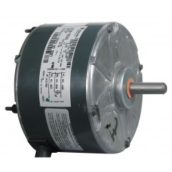 Genteq - 5KCP39BGY824S - 1/10 HP Condenser Fan Motor, Permanent Split Capacitor, 1100 Nameplate RPM, 208-230 Voltage