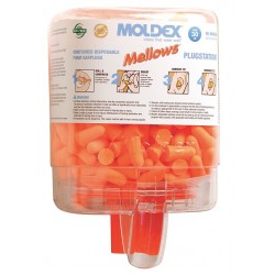 Moldex - 6846 - 30dB Disposable Tapered Shape Ear Plugs&#x3b; Without Cord, Orange, Universal