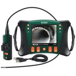 Extech Instruments - HDV640W - Extech HDV640W High Definition Wireless Articulating Videoscope Inspection Camera