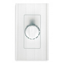 Broan-NuTone - 72W - Broan 72W Hard Wire Dimmer - Rotary Dimmer - Fan Control - 1 Controllable Device(s) - White