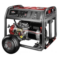 Briggs & Stratton - 30663 - Electric/Recoil Gasoline Portable Generator, 7000 Rated Watts, 8750 Surge Watts, 120/240VAC