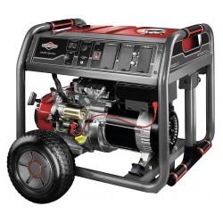Briggs & Stratton - 30663 - Electric/Recoil Gasoline Portable Generator, 7000 Rated Watts, 8750 Surge Watts, 120/240VAC