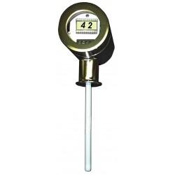 Lumenite - MLST-4220-C2-72 - Sanitary Level Transmitter, 2 Tri-Clamp Fitting, 72 Stem Length