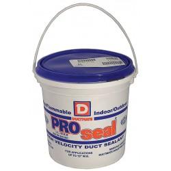 Ductmate Industries - GRPROSEAL1 - Gray Low VOC Duct Sealant, Polyurethane, 1 gal. Pail
