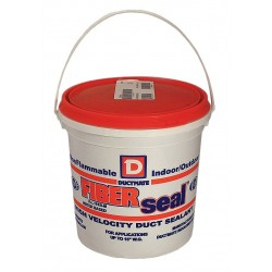 Ductmate Industries - GRFIBERSEAL1 - Gray Duct Sealant, Polyurethane, 1 gal. Pail