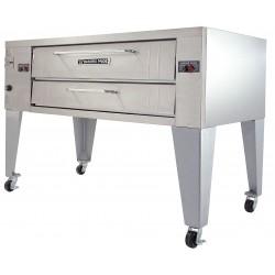 Bakers Pride - Y-800 - 51 x 84 x 55 1/8 Single Deck Gas Deck Oven