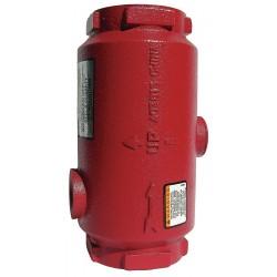 Bell & Gossett - 1AS-1.5 - 175 psi Inline Air Separator, Cast Iron, 1-1/2 NPT Inlet