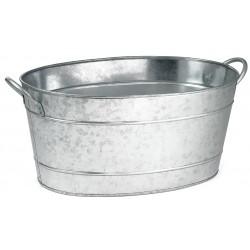 TableCraft - BT1914 - Beverage Tub, Oval, Steel, 710 Oz