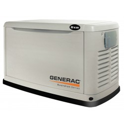 Generac - 6245 - Generac 6245 8kW 8, 000-Watt Air-Cooled Standby Generator Enclosure - 6245