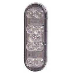 Maxxima / Panor - M63347 - Backup Light, 9 LED, 6x3, Oval, White