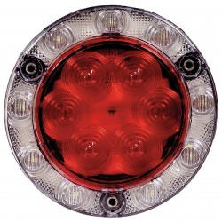 Maxxima / Panor - M85415R-KIT - Combo Stop/Tail/Turn Back Up Light, Red