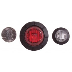 Maxxima / Panor - M09400R - Clearance Marker, 6LED, P2PC, 1-1/4 In, Red