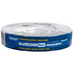 Shurtape - CP 27 - Painters Masking Tape, 55m x 24mm, Blue, 5.30 mil