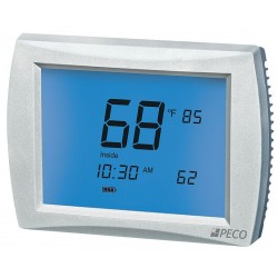 Peco - T12532-IAQ - Low Voltage Thermostat, Stages Cool 2, Stages Heat 3