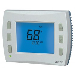 Peco - T8532-IAQ - Low Voltage Thermostat, Stages Cool 2, Stages Heat 3