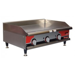 APW Wyott - GGM-36I - 26-3/4 x 36 x 15-1/2 Manual Gas Griddle
