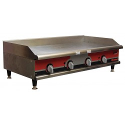 APW Wyott - GGM-48I - 26-3/4 x 48 x 15-1/2 Manual Gas Griddle