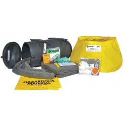 Enpac - 13-TWSK-U - Chemical, Hazmat Vehicle Spill Kit Wall Mounted Container