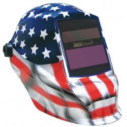 Sellstrom - S41200GL-611 - Trident Series, Auto-Darkening Welding Helmet, 9 to 13 Lens Shade, 3.80 x 1.60 Viewing Area