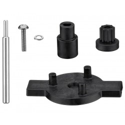 Waring - CAC104 - 2 7/8 x 4 1/8 x 1 3/4 Stainless, Nylon Coupler Kit