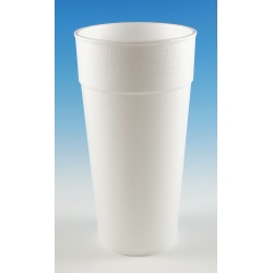 Wincup - 24C18 - 24 oz. Disposable Cold/Hot Cup, Foam, White, PK 300
