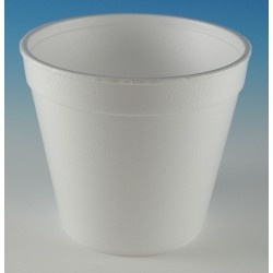 Wincup - 24FC49 - 4-1/4 Polystyrene Carry-Out Soup Container, White; PK500