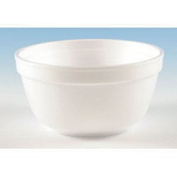 Wincup - B8 - 8 oz. Disposable Polystyrene Bowl, White; PK1000